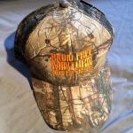 Mesh Hunter Cap (RealTree Camo and Orange Embroidery)